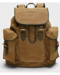 Banana Republic Heritage Canvas Backpack - Natural