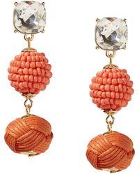 Syna 18kt Diamond Bauble Earrings Cff6k