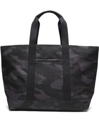 Banana Republic Camouflage Large Tote Bag - Black