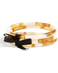 Banana Republic Yellow Trio Bangle