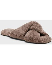Banana Republic Twisted Terry Indoor Slipper - Brown