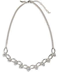 Banana Republic Glitz Short Necklace - Metallic