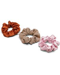 Banana Republic Houndstooth Scrunchie 3-pack - Multicolor
