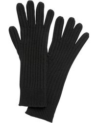 Banana Republic Cashmere Long Gloves - Black
