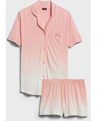 Cosabella Bella Pajama Short Set - Pink