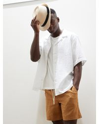 Banana Republic Relaxed-fit Resort Shirt - White