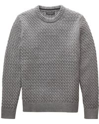 Banana Republic - Cotton Cable-knit Sweater - Lyst
