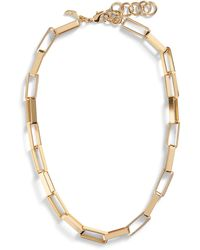 Banana Republic Oval Link Chain - Metallic