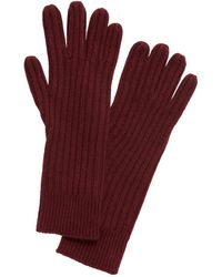 Banana Republic Cashmere Long Gloves - Red