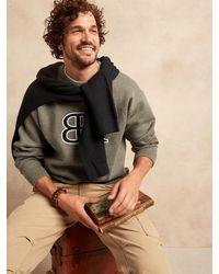 Banana Republic - Organic Double-knit Sweater - Lyst