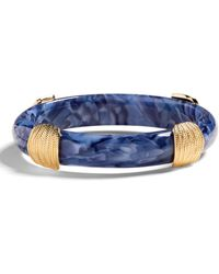 Banana Republic Resin Bangle - Blue