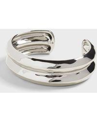 Banana Republic Silver Cuff - Metallic