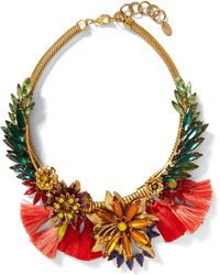Banana Republic - Elizabeth Cole   Tropical Necklace - Lyst