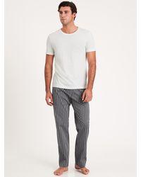 Banana Republic Tech-stretch Pajama Pant - Blue