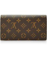 Banana Republic Louis Vuitton Monogram Sarah Wallet - Brown