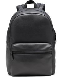 Banana Republic Leather Backpack - Black