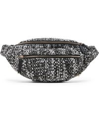 Banana Republic Crochet Belt Bag - Black
