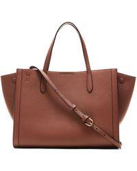 Banana Republic - Italian Leather Medium Tailored Tote Bag - Lyst