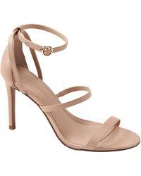 Banana Republic Bare High-heel Sandal - Metallic