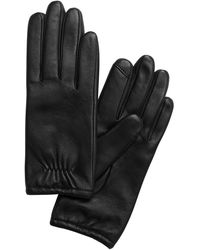 Banana Republic Leather Gloves - Black