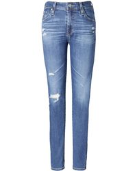 Banana Republic - Ag Jeans | Farrah Mid-rise Skinny Ankle Jean - Lyst