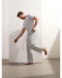 Banana Republic Tech-stretch Pajama Pant - Multicolor