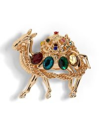 Banana Republic Camel Brooch - Metallic