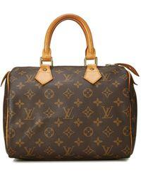 What Goes Around Comes Around Louis Vuitton Speedy 25 - Brown