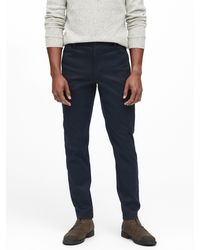 Banana Republic Heritage Athletic Tapered Utility Pant - Blue
