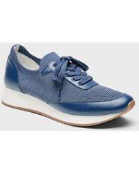 Banana Republic Recycled Knit Sneaker - Blue
