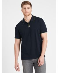 Banana Republic Luxury-touch Polo Shirt - Blue