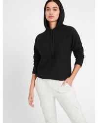 Banana Republic Sweater Hoodie - Black