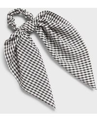 Banana Republic Factory Tie Scrunchie - Black