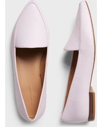 Banana Republic Factory Textured Pointed Toe Loafer - Pink