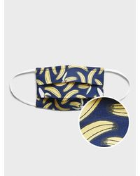 Banana Republic Factory Adult Face Mask 3-pack - Blue