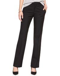Banana Republic Factory - Machine Washable Logan Classic Black Tailored Trouser - Lyst