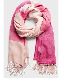 Banana Republic Factory Colorblock Scarf - Pink