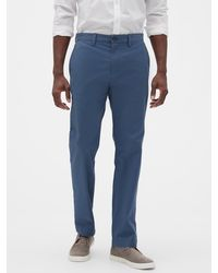 Banana Republic Factory Emerson Straight-fit Stretch Chino - Blue