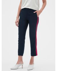 Banana Republic Factory - Avery Side Stripe Tailored Ankle Pant - Lyst