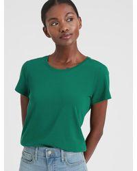 Banana Republic Factory Timeless Crew-neck T-shirt - Green