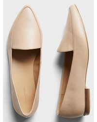 Banana Republic Factory Textured Pointed Toe Loafer - Natural