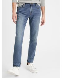3N Nouveau Neuf avec étiquettes pour homme Banana Republic vintage coupe droite fit jeans denim 79 $