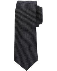 Banana Republic Factory - Dark Stripe Linen-like Tie - Lyst