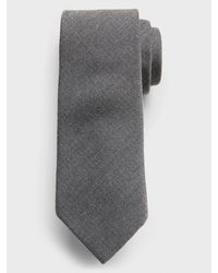 Banana Republic Factory Stain-resistant Textured Gray Tie