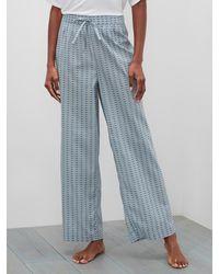 Banana Republic Factory Pajama Bottom - Blue