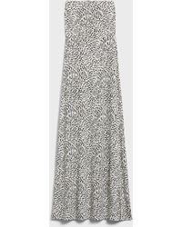 Banana Republic Factory Knit Tube-top Maxi Dress - Multicolor