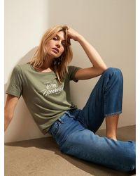 Banana Republic Factory Graphic T-shirt - Green