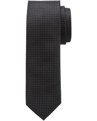 Banana Republic Factory - Thin Textured Tie - Lyst