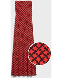 Banana Republic Factory Knit Tube-top Maxi Dress - Red