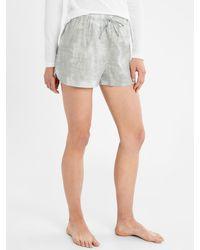 Banana Republic Factory Pajama Short - Gray